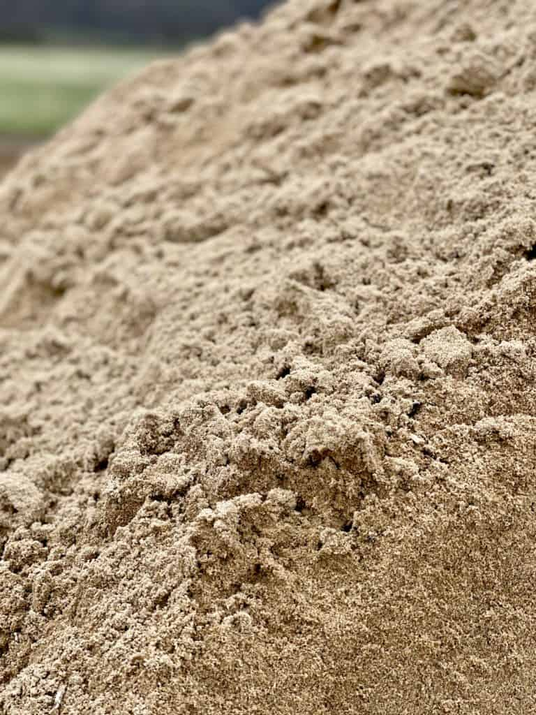 písek praný